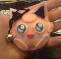 Jigglypuff Keychain by Tez-Taylor