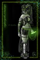 Cybergoth - Isotope CG by QuantumSuz