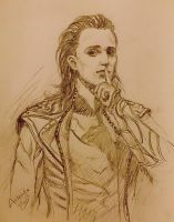 Loki quick sketch by Athena-Erocith
