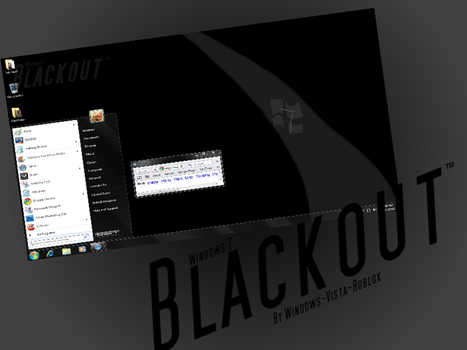 Blackout For Windows 7 by Winodws-Vista-Roblox