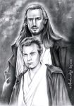 Master and Padawan by enednoviel