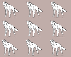 Wolf adopt base by NinjaPancake