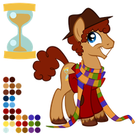 Reference Sheet: Fourth Doctor by LissyStrata