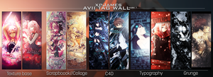 Avii Tag Wall // Mark 1 by JamesxpGFX