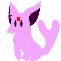 Eeveeloution Vector: Espeon by SkeleVee