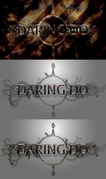 Wallpapers : Daring Do - Designed Logos x3 by pims1978