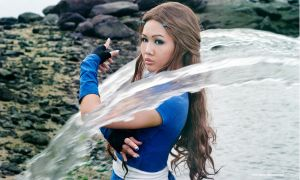 Katara - Waterbender by vaxzone
