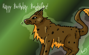 Happy Birthday Brightface by Fall-of-rain