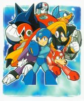 Megaman 2: The Power Fighters by tanlisette
