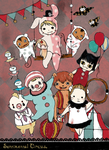 Sentimental Circus Halloween by DingDingy