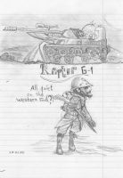 Tanks on the front by Humblehistorian