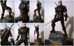 Witcher statue by OndrakHonza