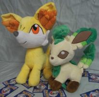 Double your pokemon plush size! by angelberries