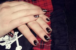 Gothic Nails by First-Rose