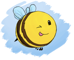 The Cheeky Bee by BeeTrue