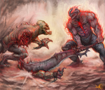 Dota 2 Battle by RubensNM