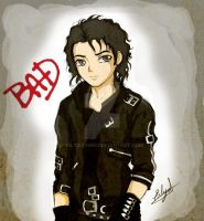 Michael Jackson-Bad by Eilyn-Chan