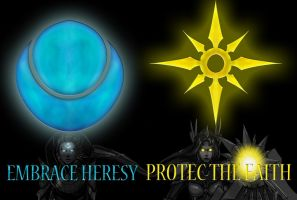 sun and moon by VICTOR2012