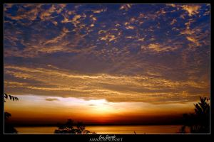 Amazon Sunset 4 by quezado