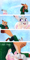 It's Snowing - Part 2 by TheWinterBunny