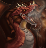 Red Dragon by CourtneyBowen