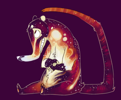 Cosmic Coati by nugginss