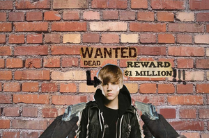 Wanted Dead Justin Bieber by RenerDeCastro