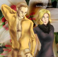Hannibal - Bedelia and Hannibal by FuriarossaAndMimma