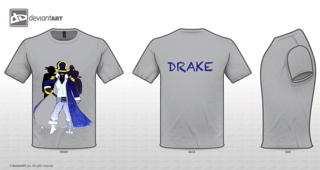 Drake's T-Shirt Contest drawning by Skayeos