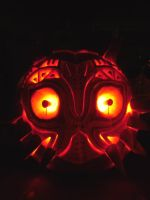 Majora's Mask Lantern by Billy-008