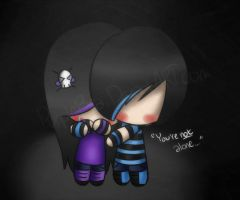 You're not alone. by PurpleBea