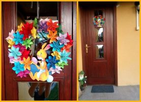 easter wreath by Cintia94