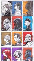 SW Galaxy 6 03 Sketch cards by Hodges-Art