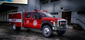 Ford F-450 Fire Rescue by TheImNobody