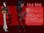 Cale Reoz - Character Sheet|Bodyguard by VeraPeneda