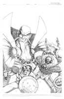 CoG Cover 1 Pencils by MJValle