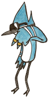 Mordecai PWW by RandomPicklez