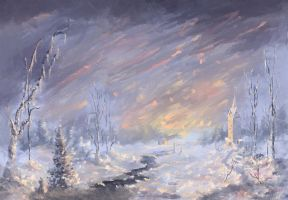 Frozen Land, Frozen Sky by Loo1Cool