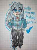 [Melody] Chibified Hello by ChibiCantDraw