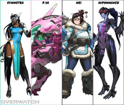 March 2017 poll on Patreon - OVERWATCH! by gao23
