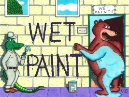 The Wet Paint Mess by WalterRingtail