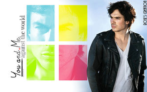 Fbml with scroll-box - Damon Salvatore by dreamswoman