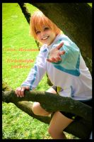 Free! Iwatobi Nagisa - It's beautiful outside by SharyNyanko