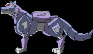 Gary: Robo Dog or Wolf by Gothar-is-Rodge