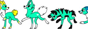 teal adopts toot toot! closed by AppleFrittter