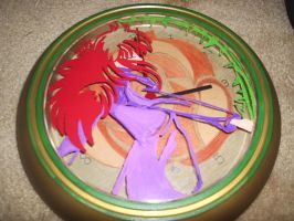 Kurama clock by cutiechibi
