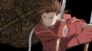 Tales of Symphonia HD Lloyd Irving Background 16:9 by YukiSaphira