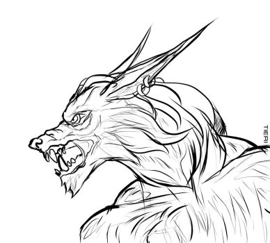 Mawgun-sketch by IsabelleAuditore