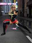 Ms Marvel pose 01 by DahriAlGhul
