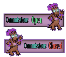 Commission Buttons by lilena